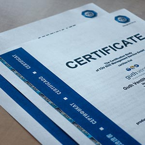 Products Certificates